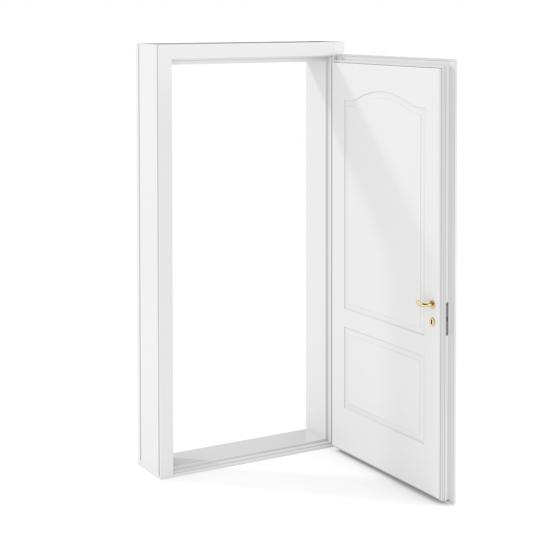 chocofur blender 3D model Doors Door 02