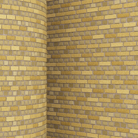 chocofur blender 3D model Brick Brick Simple 13