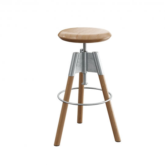 chocofur blender 3D model Stools Stool 07