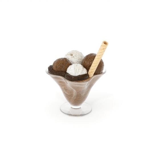 chocofur blender 3D model Food Food 23