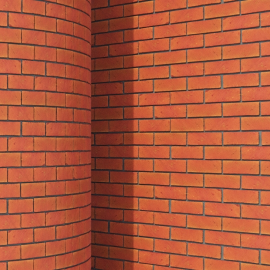 chocofur blender 3D model Brick Brick Simple 07