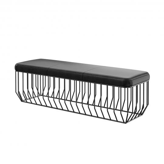 chocofur blender 3D model Benches Bench 03