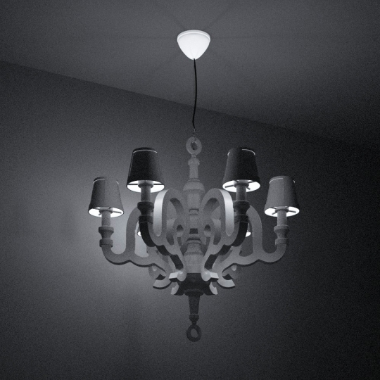 chocofur blender 3D model Lamps Light 42