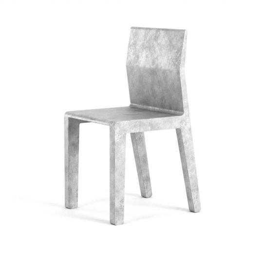 chocofur blender 3D model Chairs Concrete 13