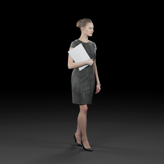 chocofur blender 3D model Business Humano Business 10