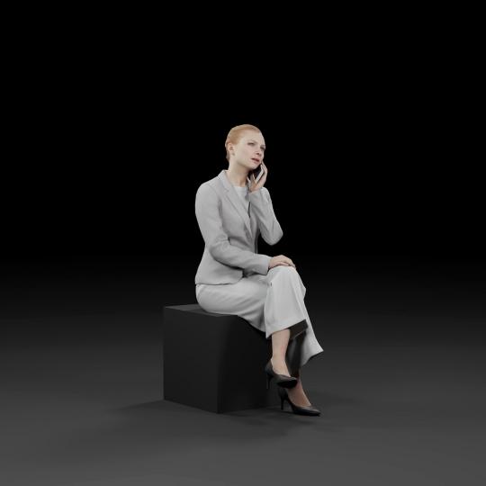 chocofur blender 3D model Business Humano Business 20
