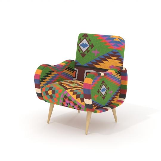 chocofur blender 3D model Lounge Fabrics 09