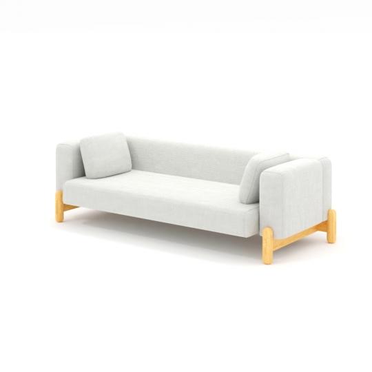 chocofur blender 3D model Sofas Sofa 02