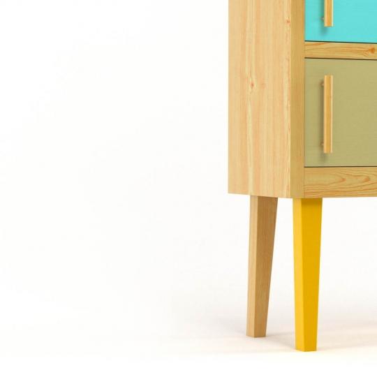 chocofur blender 3D model Storage Wood 11