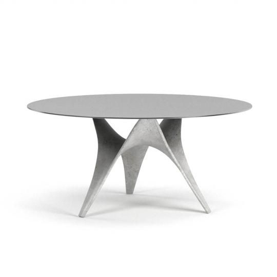 chocofur blender 3D model Tables Concrete 09