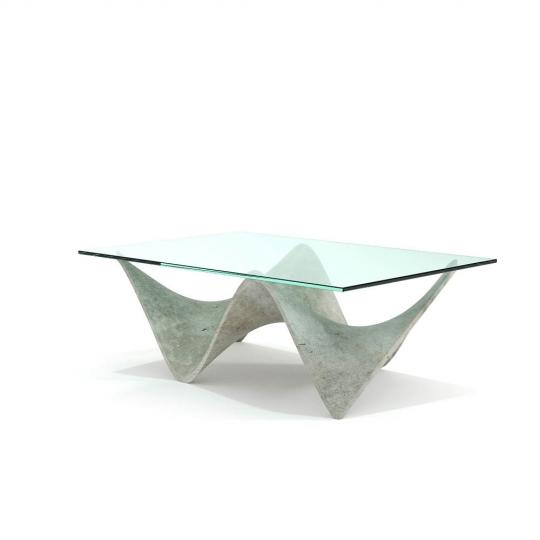 chocofur blender 3D model Tables Concrete 28