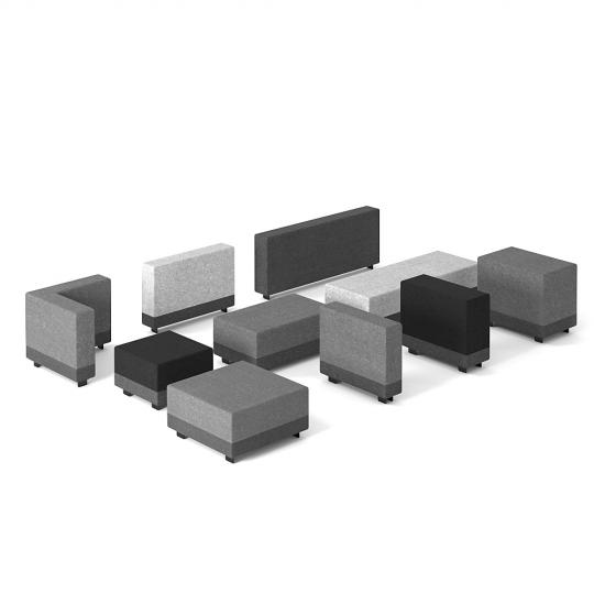 chocofur blender 3D model Free Sofa Modular Chocofur Free Sofa Modular 15