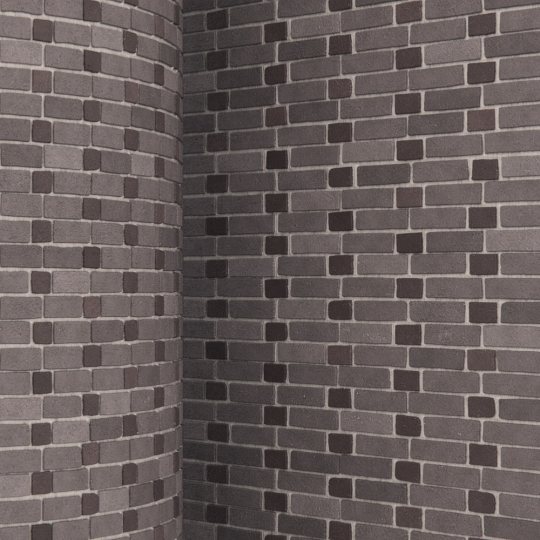 chocofur blender 3D model Brick Brick Pattern 11