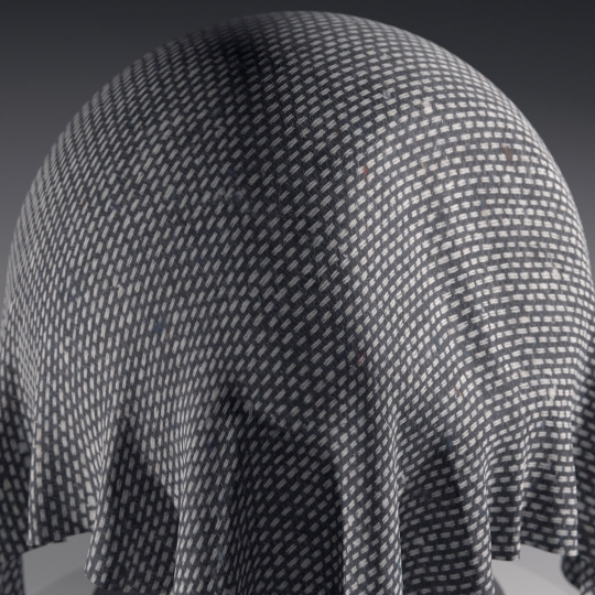 chocofur blender 3D model Fabric Chocofur Fabric Modern 12