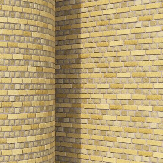 chocofur blender 3D model Brick Brick Simple 13