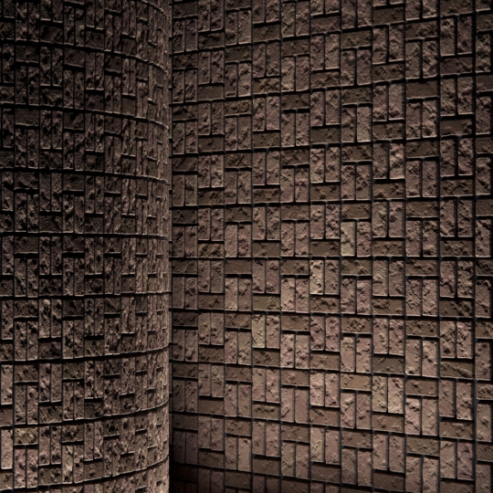 chocofur blender 3D model Brick Brick Pattern 07