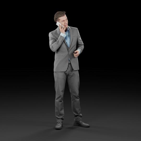 chocofur blender 3D model Elegant Humano Elegant 15