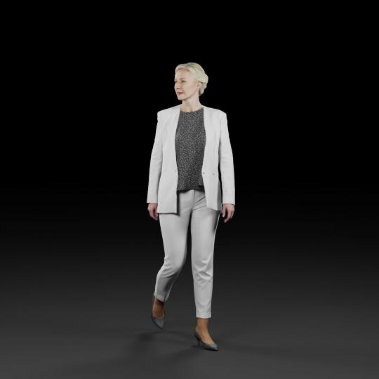 chocofur blender 3D model Elegant Humano Elegant 06