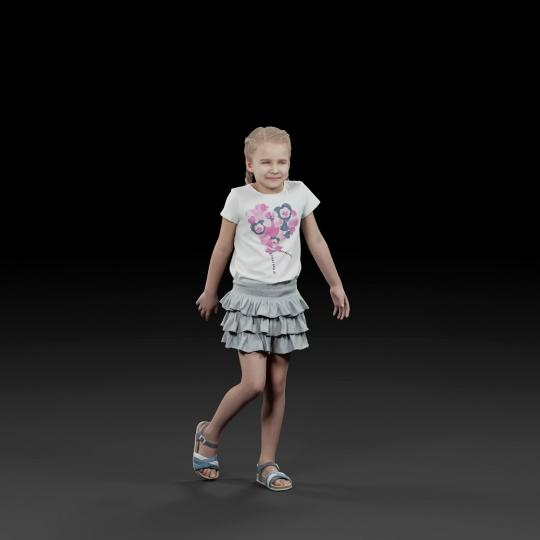 chocofur blender 3D model Casual Humano Casual 07