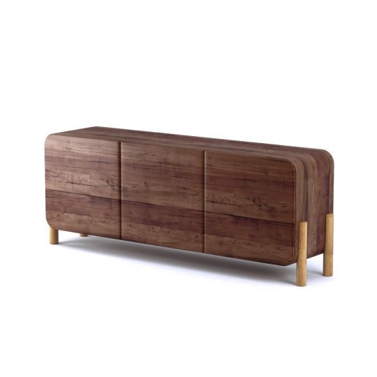 chocofur blender 3D model Sideboards Wood 14