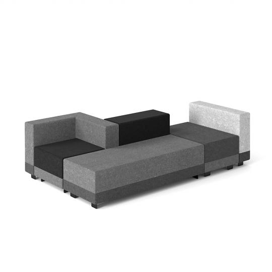 chocofur blender 3D model Free Sofa Modular Chocofur Free Sofa Modular 13