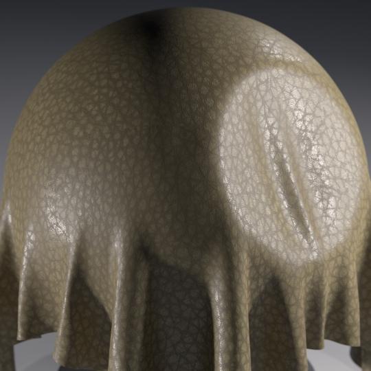 chocofur blender 3D model Leather Chocofur Leather Simple 09