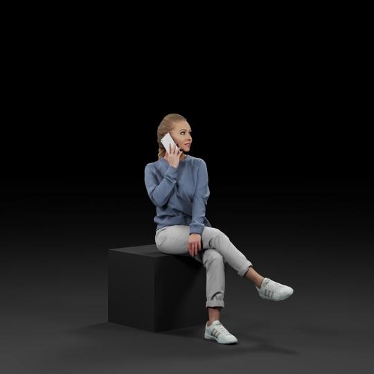 chocofur blender 3D model Diverse Humano Diverse 13