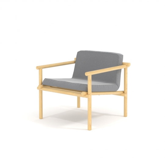chocofur blender 3D model Lounge Free 25 Fabrics