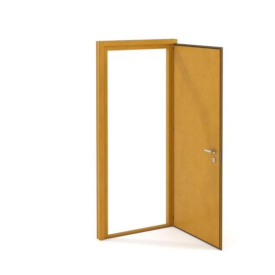 chocofur blender 3D model Doors Door 03