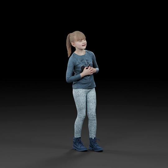 chocofur blender 3D model Casual Humano Casual 09
