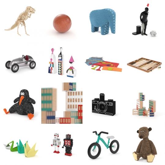 chocofur blender 3D model Toys Toy Details Bundle