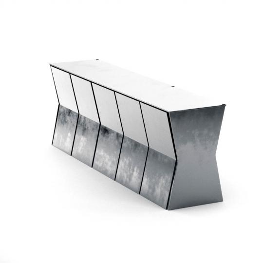 chocofur blender 3D model Sideboards Steel 09