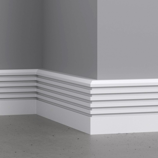 chocofur blender 3D model Skirting Skirting 02