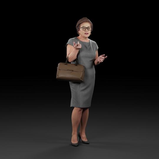 chocofur blender 3D model Elegant Humano Elegant 14