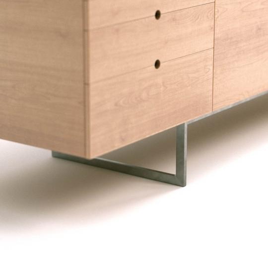 chocofur blender 3D model Sideboards Wood 02