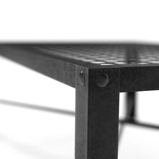 chocofur blender 3D model Tables Steel 23