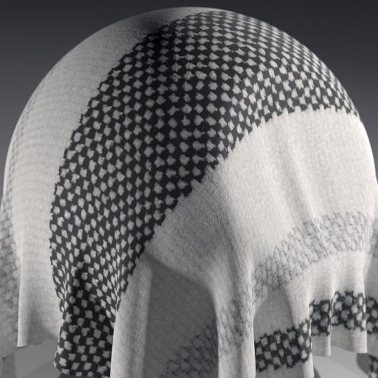 chocofur blender 3D model Fabric Chocofur Fabric Modern 09