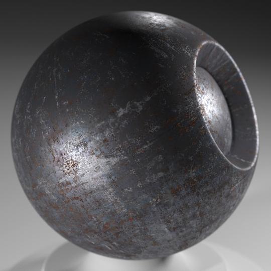 chocofur blender 3D model Metal Chocofur Metal Solid 05