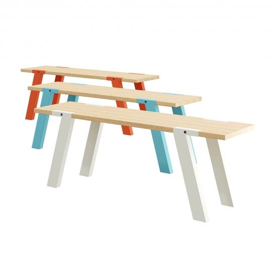 chocofur blender 3D model Benches Bench 42