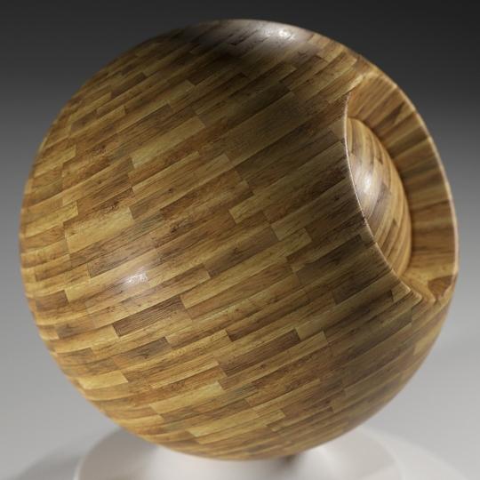 chocofur blender 3D model Wood Chocofur Wood Simple 02