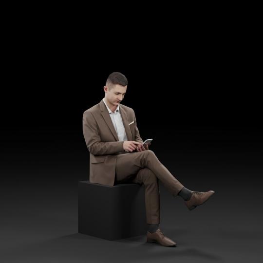 chocofur blender 3D model Elegant Humano Elegant 17
