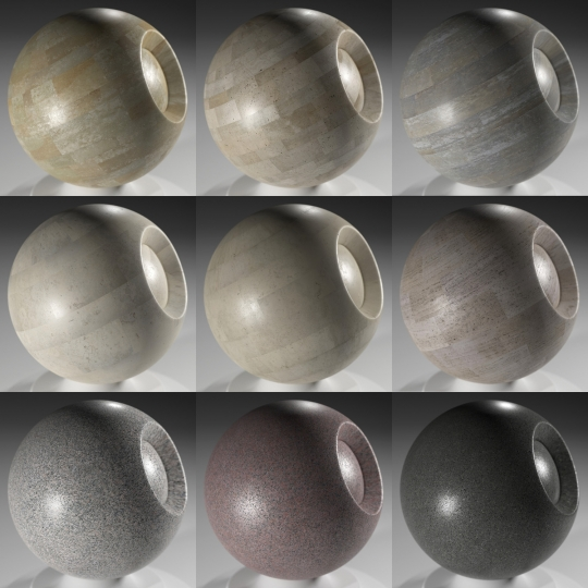 chocofur blender 3D model Marble Free Marble Shaders
