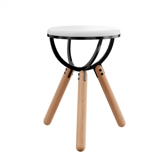 chocofur blender 3D model Stools Stool 23