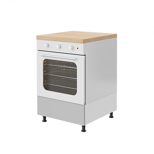 chocofur blender 3D model Kitchen Set 02 Kitchen Set 02 12
