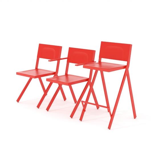 chocofur blender 3D model Chairs Plastic 37