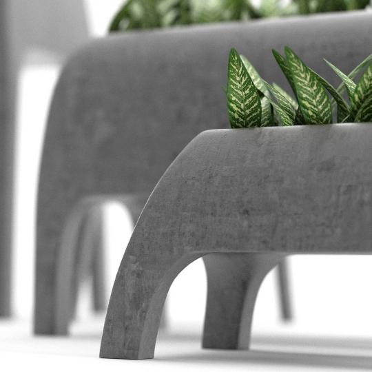 chocofur blender 3D model Decoration Decor 03