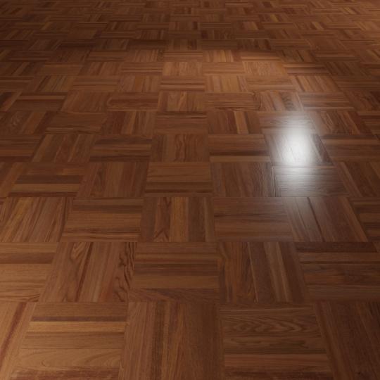chocofur blender 3D model Wood Flooring Wood Flooring 25 Merbau