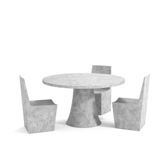 chocofur blender 3D model Tables Concrete 24
