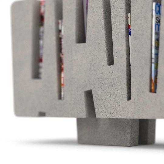 chocofur blender 3D model Sideboards Concrete 02