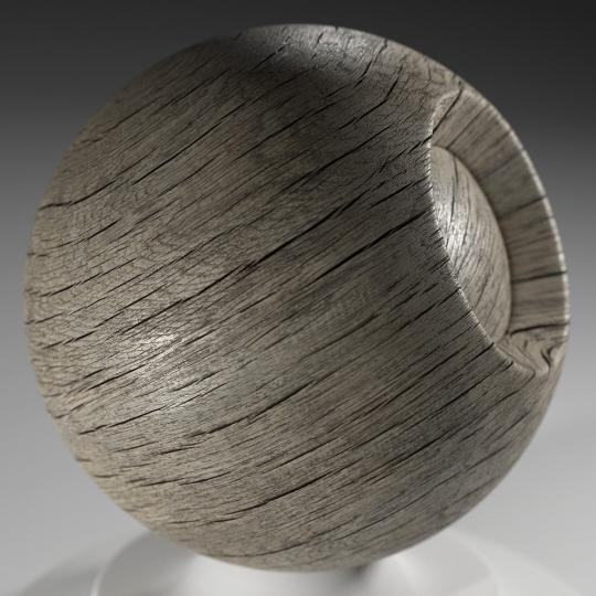 chocofur blender 3D model Wood Chocofur Wood Solid 09